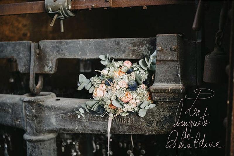fleur mariage salle les bonnes joies